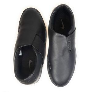 Nike Blazer City Ease Black Leather Sneakers NWOB